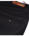 0368-1 Disvocas брюки мужские черные батальные с косым карманом весенние стрейчевые (32-42, 8 ед.): артикул 1088054