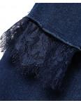 0797 KT.Moss американка синяя с кружевом весенняя стрейчевая (25-30, 6 ед.): артикул 1088065