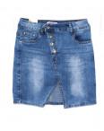 1260 Gourd юбка джинсовая на пуговицах весенняя стрейчевая (26-31, 6 ед.): артикул 1088090