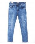 0886 Miss Free джинсы женские батальные с жемчугом весенние стрейчевые (31-38, 6 ед.): артикул 1088099