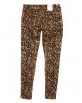 """1559 Gourd джинсы женские с принтом """"леопард"""" весенние стрейчевые (25-29, 6 ед.): артикул 1088144"""