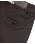 140063 LS брюки мужские коричневые с косым карманом весенние стрейчевые (29-38, 8 ед.): артикул 1088198