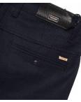 0363-2 Pobeda брюки мужские молодежные с косым карманом темно-синие весенние стрейчевые (27-34, 8 ед.): артикул 1088386