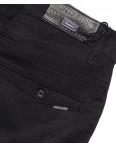 0365-1 Pobeda брюки мужские молодежные черные весенние стрейчевые (27-34, 8 ед.): артикул 1088389