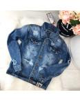 A 0201-9 Relucky куртка джинсовая женская с рванкой весенняя стрейчевая (S-3XL, 6 ед.): артикул 1087956