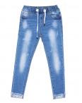 1267 Lady N джинсы женские батальные на резинке весенние стрейчевые (28-33, 6 ед.): артикул 1088396