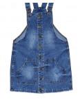 Y 0033-12 Relucky женский джинсовый комбинезон-юбка весенний котоновый (25-30, 6 ед.): артикул 1088419