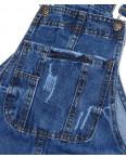 V 0034-12 Relucky женский джинсовый комбинезон-юбка весенний котоновый (25-30, 6 ед.): артикул 1088420