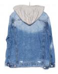 0134 (W134) Saint Wish куртка джинсовая женская с капюшоном весенняя котоновая (S-L, 3 ед.): артикул 1088514