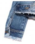 0137 (W137) Saint Wish куртка джинсовая женская с рванкой весенняя котоновая (S-XL, 4 ед.): артикул 1088517