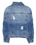 0135 (W135) Saint Wish куртка джинсовая женская с рванкой весенняя котоновая (S-L, 3 ед.): артикул 1088518