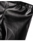 0612 X лосины черные кожаные весенние стрейчевые (42-46, 3 ед.): артикул 1088570