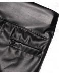 0255 черные X лосины черные кожаные весенние стрейчевые (42-46, 3 ед.): артикул 1088611
