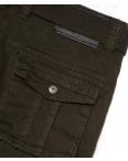1672-4 Iteno брюки мужские карго хаки весенние стрейч-котон (30-38, 6/12 ед.): артикул 1088619