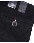6018-1 Baron брюки мужские черный меланж весенние стрейч-котон (29-38, 8 ед.): артикул 1088699