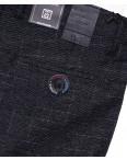 6013-2 Baron брюки мужские серо-синие весенние стрейч-котон (29-38, 8 ед.): артикул 1088700