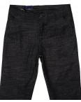 6015-1 Baron брюки мужские молодежные темно-серые весенние стрейч-котон (27-34, 8 ед.): артикул 1088701