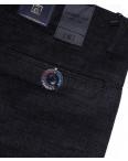 6016-2 Baron брюки мужские батальные темно-серый меланж весенние стрейч-котон (32-38, 8 ед.): артикул 1088702