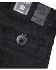 6015-2 Baron брюки мужские молодежные темно-серые весенние стрейч-котон (27-34, 8 ед.): артикул 1088705