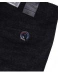 6017-1 Baron брюки мужские батальные черный меланж весенние стрейч-котон (32-38, 8 ед.): артикул 1088706