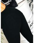 1910-1 XYH джеггинсы черные с жемчугом демисезонные стрейчевые (26,27,27,28,30, 5 ед.): артикул 1088677_2