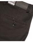 140062-X LS брюки мужские молодежные на манжете темно-серые весенние стрейчевые (27-34, 8 ед.) : артикул 1088743