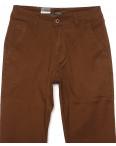 140065 LS брюки мужские коричневые весенние стрейчевые (29-38, 8 ед.) : артикул 1088744