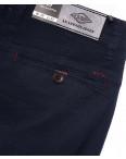 140060-X LS брюки мужские молодежные на манжете темно-синие весенние стрейчевые (27-34, 8 ед.) : артикул 1088748