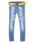 0495 Armani джинсы женские зауженные весенние стрейчевые (26-30, 5 ед.): артикул 1090941_1
