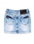 0773 Gucci юбка джинсовая с жемчугом стрейчевая (26-30, 5 ед.): артикул 1090944