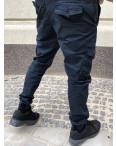 Джоггеры темно-синие с боковыми карманами (8923-15 Iteno): артикул 1088634