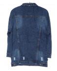 2437 X куртка джинсовая женская стильная весенняя котоновая (XS-L, 5 ед.): артикул 1089436
