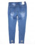 0888 Miss Free джинсы женские батальные с декоративной вставкой весенние стрейчевые (31-38, 6 ед.): артикул 1089455