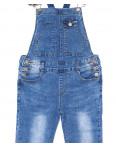 7117 X комбинезон джинсовый женский весенний стрейчевый (26-31, 6 ед.): артикул 1089493