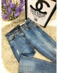 """3167 Replus стильные женские джинсы """"змейка"""" весенние стрейчевые (26-30, 5 ед.): артикул 1089582"""
