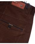 0671-31 Disvocas брюки мужские коричневые весенние стрейчевые (30-38, 8 ед.): артикул 1089690
