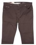 9015-D LS брюки мужские батальные коричневые весенние стрейчевые (34-44, 8 ед.): артикул 1089711