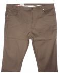 9016-D LS брюки мужские батальные бежевые весенние стрейчевые (34-44, 8 ед.): артикул 1089717