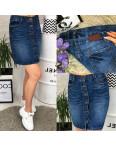 V 0031-12 Relucky юбка джинсовая батальная весенняя котоновая (28-33, 6 ед.): артикул 1088433