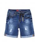 A 0143-15 Relucky шорты джинсовые женские на пуговицах стрейчевые (25-30, 6 ед.): артикул 1089821