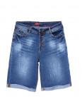 A 0153-15 Relucky шорты джинсовые женские батальные на пуговицах стрейчевые (31-38, 6 ед.): артикул 1089823