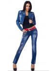 0197 LuLu (25-29, 6 ед.) джинсы женские весенние стрейчевые: артикул 1075926