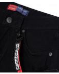 A 0031-15 Relucky шорты джинсовые женские черные с рванкой котоновые (25-30, 6 ед.): артикул 1090171