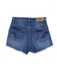 A 0063-10 Relucky шорты джинсовые женские с рванкой и царапками котоновые (25-30, 6 ед.): артикул 1090173