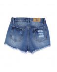 A 0026-12 Relucky шорты джинсовые женские с рванкой котоновые (25-30, 6 ед.): артикул 1090174