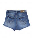A 0062-10 Relucky шорты джинсовые женские с рванкой и царапками котоновые (25-30, 6 ед.): артикул 1090176