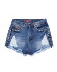 A 0020-12 Relucky шорты джинсовые женские стильные котоновые (25-30, 6 ед.): артикул 1090177