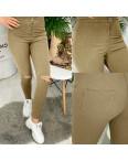 4000-06 TopShop бежевый прорези Selfy женские джинсы без карманов с прорезями весенние стрейчевые (34-42, евро, 5 ед.): артикул 1090246