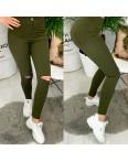 4000-06 TopShop хаки прорези Selfy женские джинсы без карманов с прорезями весенние стрейчевые (34-42, евро, 5 ед.): артикул 1090043