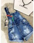 Y 0026-10 Relucky комбинезон-шорты джинсовый женский котоновый (25-30, 6 ед.): артикул 1090329